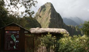 Getting geared up for tomorrow's hike of Huayna Picchu