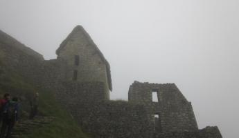 A misty morning at Machu Picchu- so surreal!