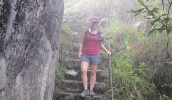 Huayna Picchu Hike- Here we go!
