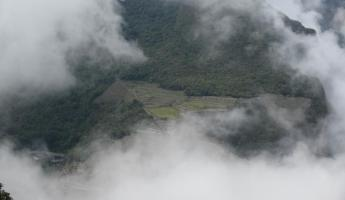 Huayna Picchu Hike- Catching glimpses through the clouds
