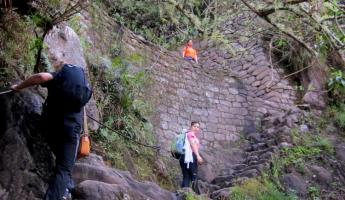 Huayna Picchu Hike- More Stairs
