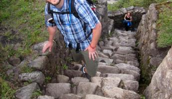 Huayna Picchu Hike- Getting closer