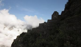 Huayna Picchu Hike- Ruins along the way
