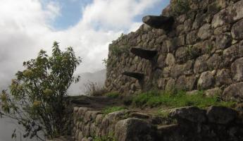 Huayna Picchu Hike- More ruins along the way