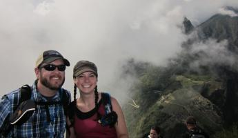 Huayna Picchu Hike- At the top!