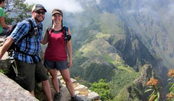 Huayna Picchu Hike- We made it!