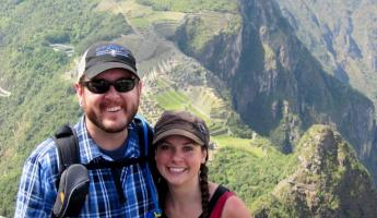 Huayna Picchu couple trip