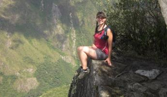 Huayna Picchu Hike- Great cliffs to look off too!