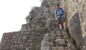 Huayna Picchu Hike- Going down