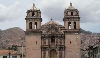 Cusco- One of several big cathedrals