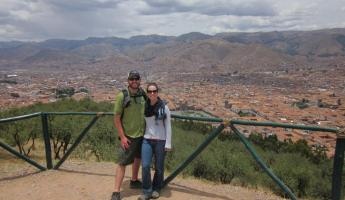 A view over Cusco