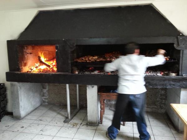 Typical Patagonian barbecue