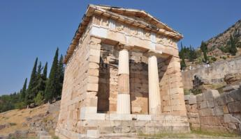 Ancient ruins of Greece