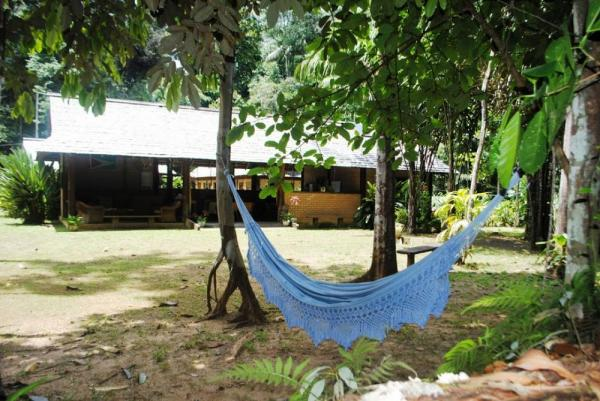 Take time to savor the breeze during a stay at Atta Rainforest Lodge