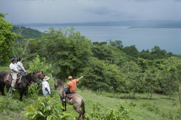 Horseback riding at Coppola's La Lancha