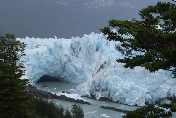 The beautiful Perito Moreno Glacier