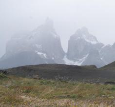 The impressive peaks of Torres del Paine