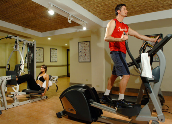 The Fitness Center offers an extensive array of equipment