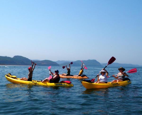 Sea kayaking is a Tailwind specialty
