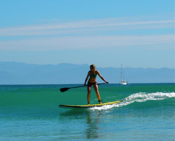 Stand Up Paddle Boarding is a fun alternative to surfing