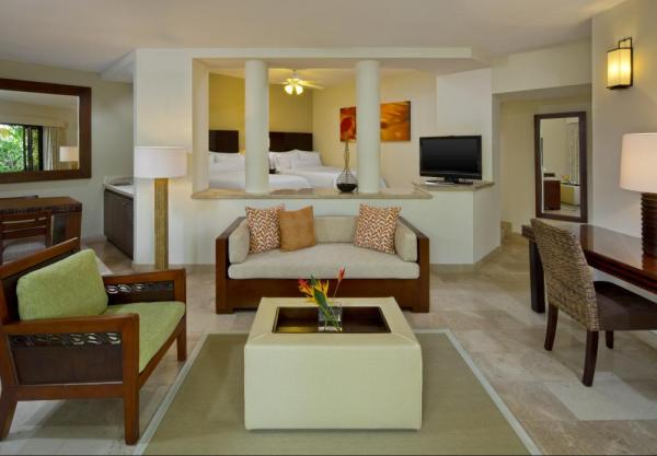Several suites and junior suite options are available