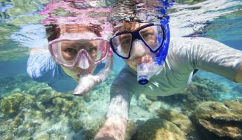Enjoy a blissful snorkeling trip.