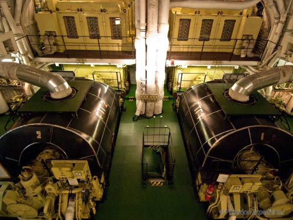 Tour the state-of-the-art nuclear engine room