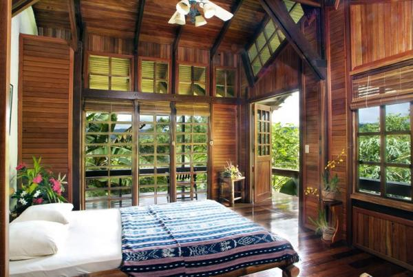 Private balconies are the perfect place to observe the rainforest surrounding your room