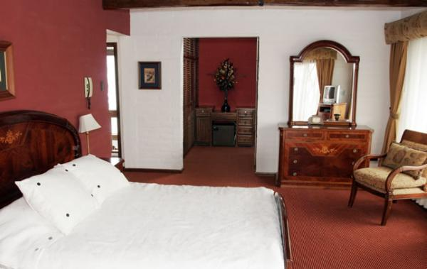 A variety of guest room options are available