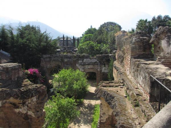 Ruins of San Francisco monastery in Antigua