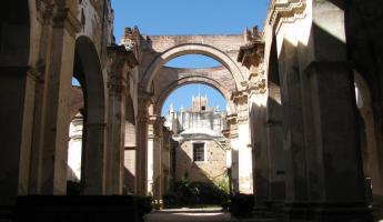 ruins of Antigua Cathedral