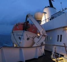 Sea adventurer on the Beagle channel