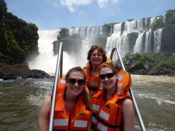 The Fuller view of Iguazu Falls