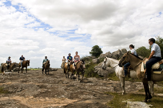 A variety of horseback activities are available