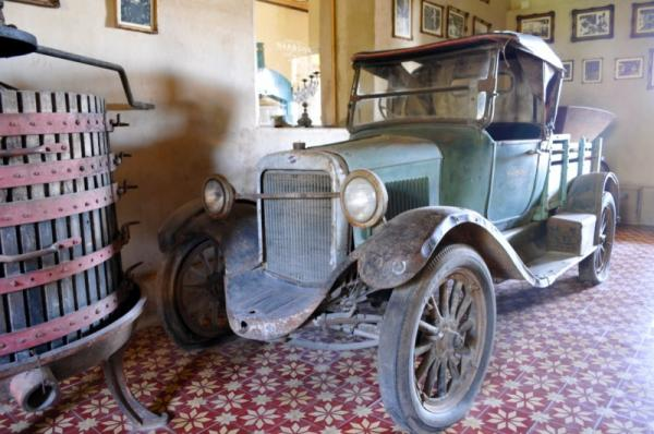 Carefully preserved reminders of the estancia\'s history