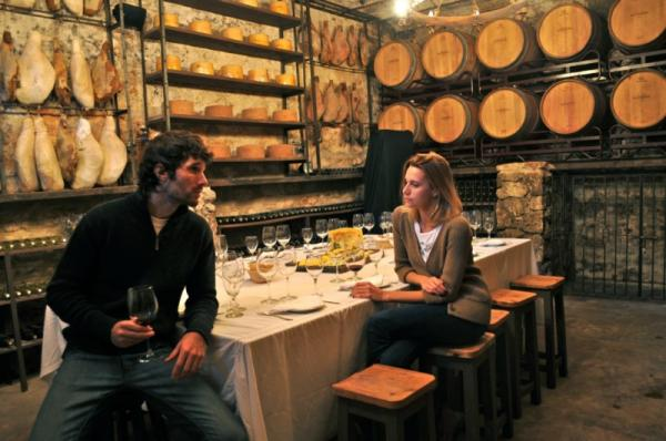 A unique dining experience in the wine cellar