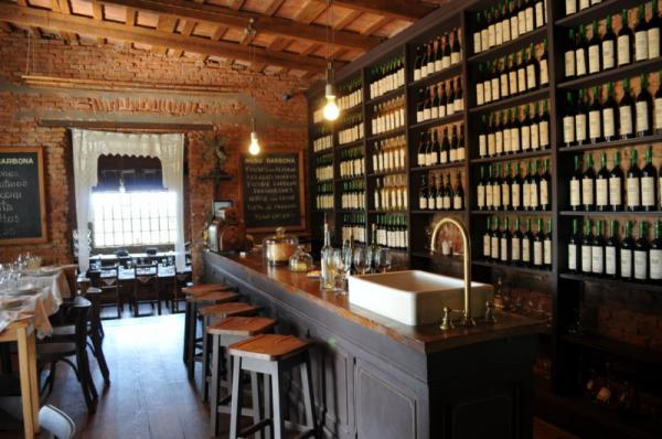 Dine in the historic general store