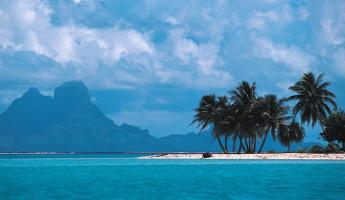 Live the Polynesian dream while sailing through azure waters