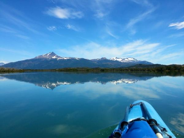 Kayaking in Patagonia