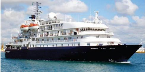 The Sea Explorer voyages to Arctic destinations