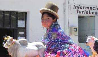 A local child of Bolivia