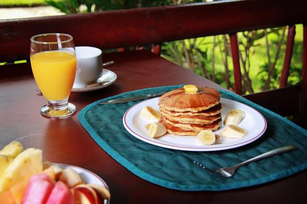 Enjoy a delicious start to another day in Costa Rica