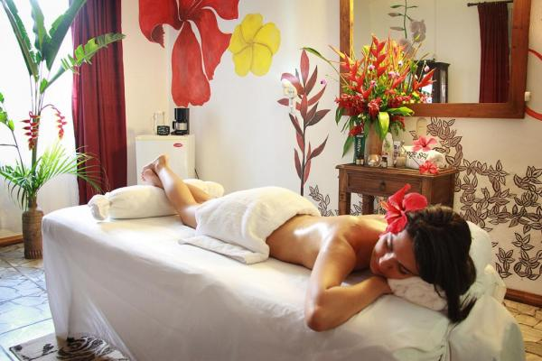 The Jungle Spa offers a variety of treatments, all utilizing organic products