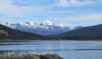The wonderful views of Tierra del Fuego