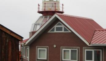 Lighthouse and home on Cape Horn