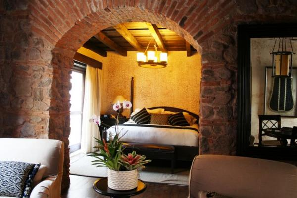A cozy double room at El Convento