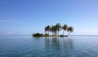 A little caye near Callabash on the Turneffe Atoll
