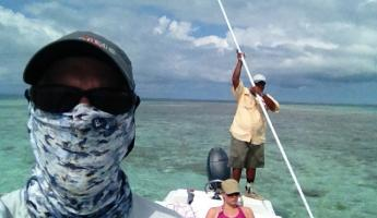 Another day of flats fishing in Belize!