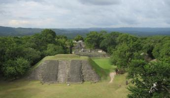 Looking out across Xunantunich