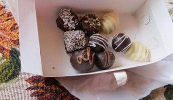 Chocolates from Chocolate Cafe